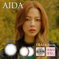 【乱視用】バービーアイAIDAグレー>1年1枚3980円DIA14.2mm