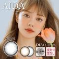 【乱視用】バービーアイAIDAグレー>1年1枚3470円DIA14.2mm