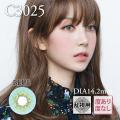 【乱視用】バービーアイC3025ブルー1年1枚3470円DIA14.2mm