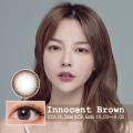 【度あり度なし】バービーアイ イノセント(Innocent)ブラウン1年・2枚入DIA:14.2mm激安カラコン