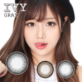 バービーアイ アイビー(IVY)グレー1年・2枚入DIA:14.0mm激安カラコン