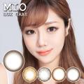 【度あり度なし】バービーアイ ミオ(Mio)ラックスグレー1年・2枚入DIA:14.0mm激安カラコン