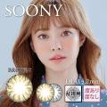 【乱視用】バービーアイSOONYブラウン1年1枚3470円DIA14.2mm