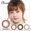 【度あり度なし】バービーアイ チャーミング(Charming)ブラウン1年・2枚入DIA:15.0mm激安カラコン