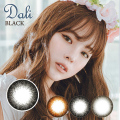 【度なし】バービーアイ ダリ エクストラ(Dali Extra)ブラック1年・2枚入DIA:14.5mm激安カラコン