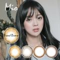 【度あり度なし】バービーアイ ミオ(Mio)ブロンドブラウン1年・2枚入DIA:14.0mm激安カラコン