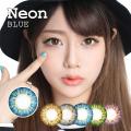 【度あり度なし】バービーアイ ネオン(Neon)ブルー1年・2枚入DIA:14.2mm激安カラコン