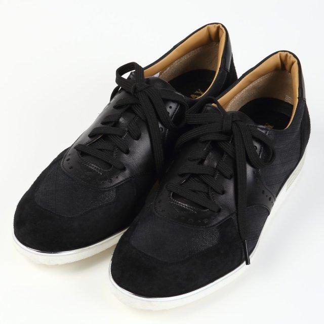【予約販売】BARCLAY(バークレー)軽量スニーカー ブラック