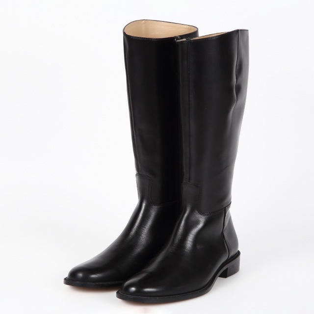 BARCLAY(バークレー)カーフレザージョッキーブーツ ブラック