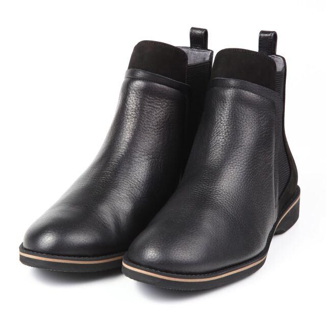 BARCLAY(バークレー) 変形サイドゴアブーツ ブラック