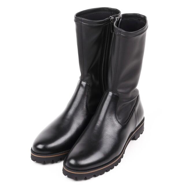 BARCLAY(バークレー) タンクソールストレッチブーツ ブラック