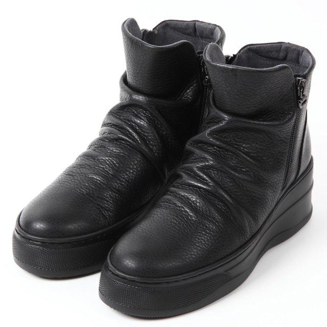 VITA NOVA 4Eショートブーツ ブラック