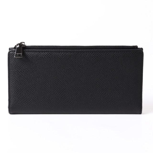 BARCLAY CLUB(バークレークラブ)上質なエンボスレザーを使用した長財布。 ブラック