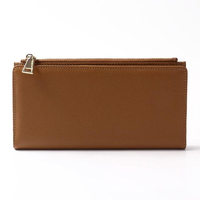 BARCLAY CLUB(バークレークラブ)上質なエンボスレザーを使用した長財布。 ブラウン