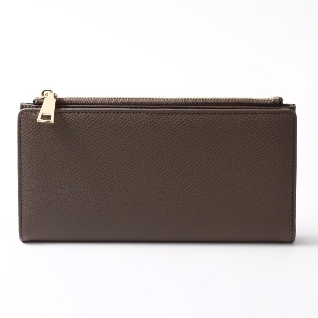 BARCLAY CLUB(バークレークラブ)上質なエンボスレザーを使用した長財布。 トープ