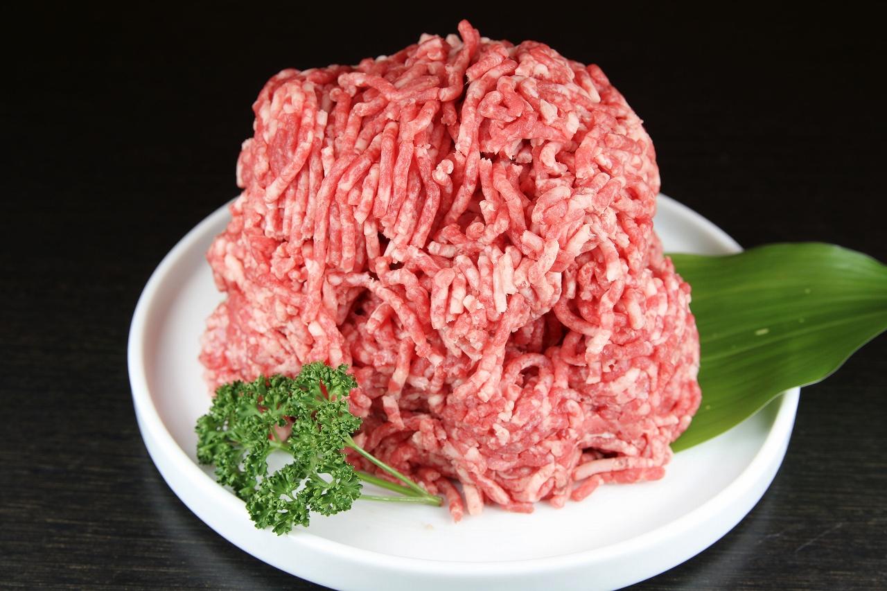 馬肉 ミンチ 加熱用(1kg)