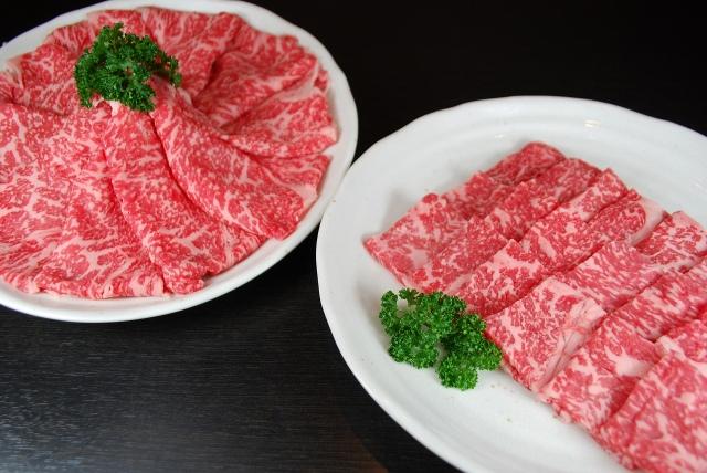 熊本あか牛 ロース焼肉用300g・すき焼き用400gセット(送料無料)
