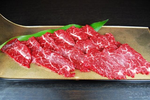 馬肉 ハラミ 加熱用(100g)