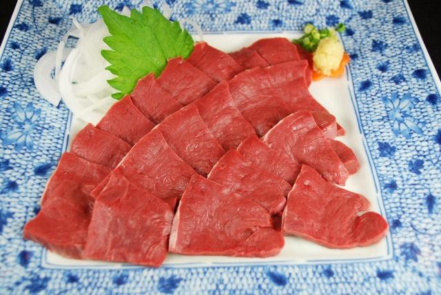 馬肉 ハツ加熱用(100g)