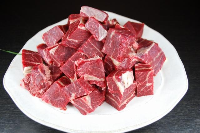 馬肉 ホホ肉 煮込み用(500g)