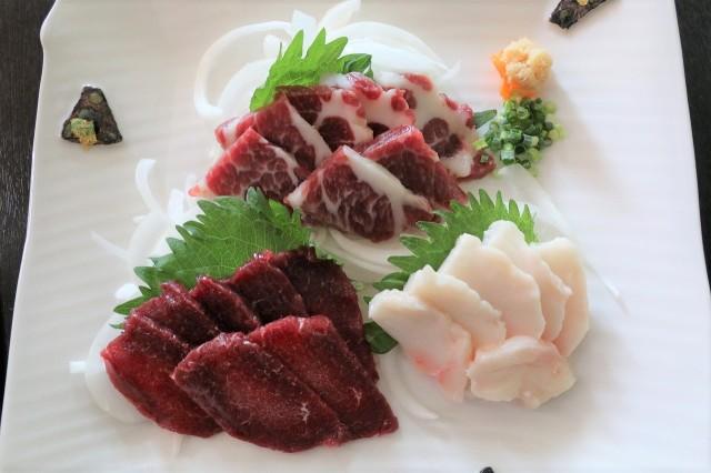 熊本馬刺し 食べ比べ元気セット 送料無料!!