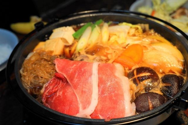 梅肉ポーク すき焼きセット(4人前)