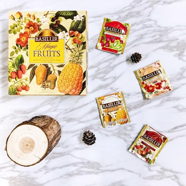 ASSORTED MAGIC FRUITS TEA BAGS  (ティーバック40袋入り )