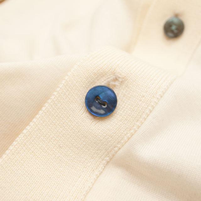 【丸型(染めボタン)】黒蝶貝 貝ボタン#00104 2穴11.5mm C/#BLUE