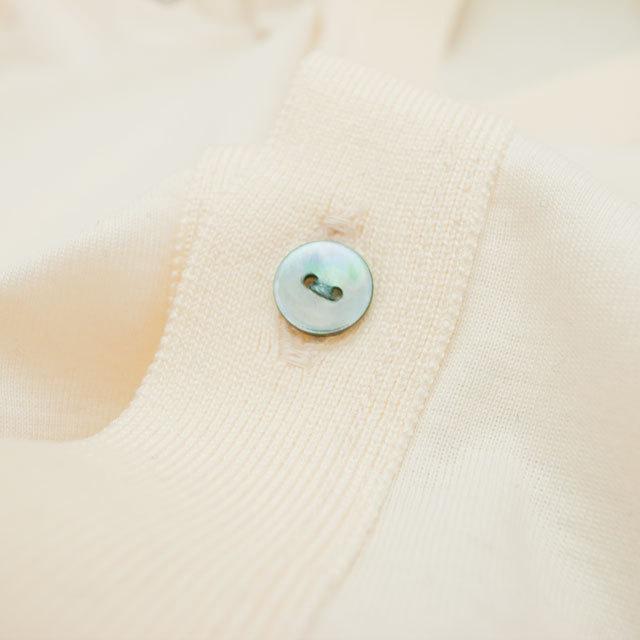 【丸型(染めボタン)】黒蝶貝 貝ボタン#00104 2穴11.5mm C/#L.BLUE