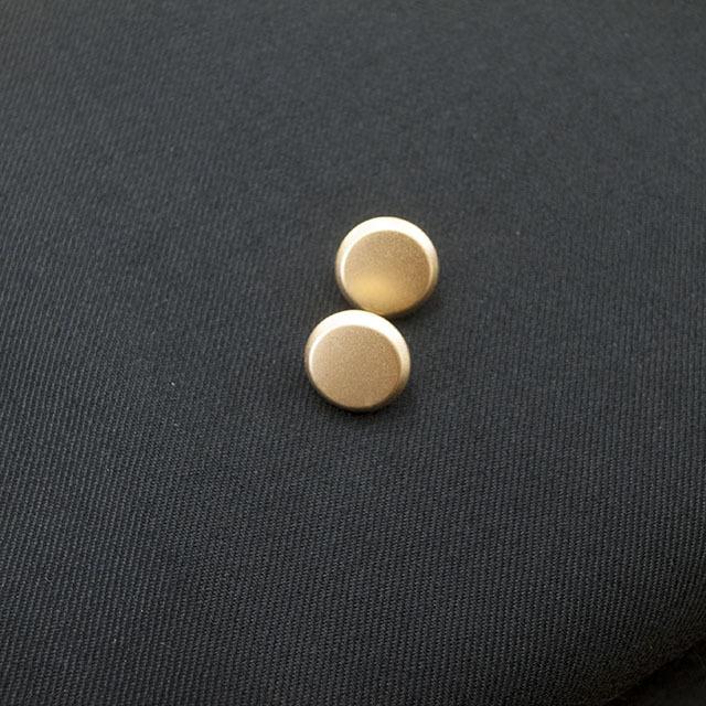 メタルシンプルボタン