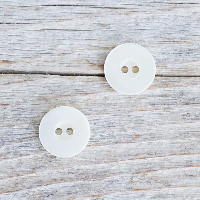 【丸型(シンプルデザイン)】高瀬貝 貝ボタン#bt060 2穴11.5mm