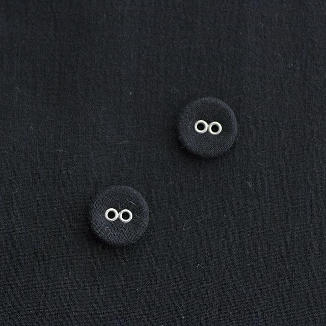 リネンくるみボタン