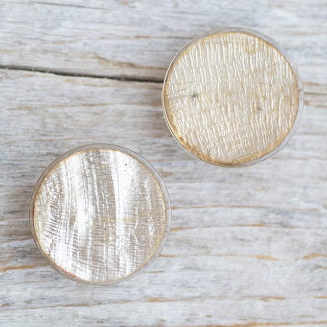 【シンプルデザイン貝ボタン SAND】カピスシェル #BT225  C/#47ゴールド 1穴20mm