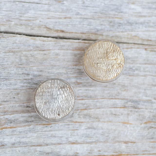 【シンプルデザイン貝ボタン SAND】カピスシェル #BT225  C/#47ゴールド 1穴13mm