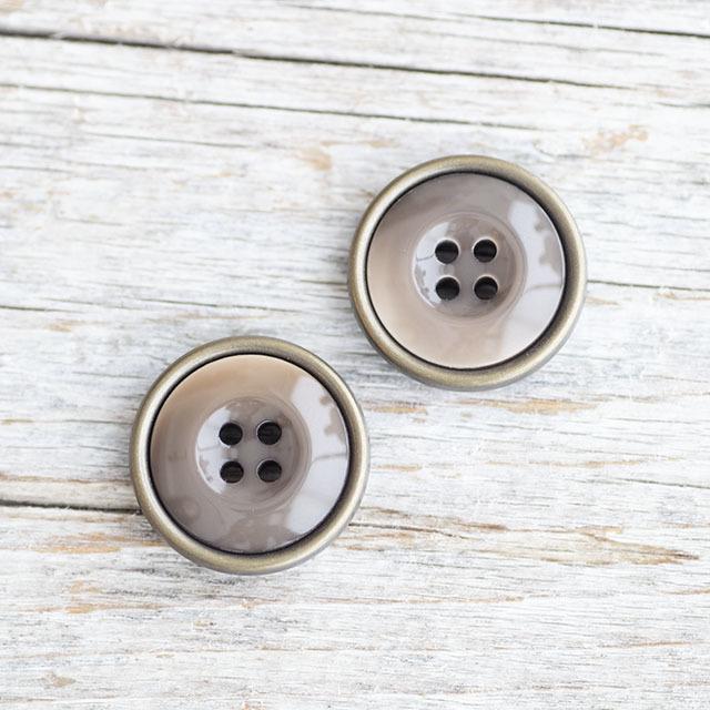 コート用ボタン