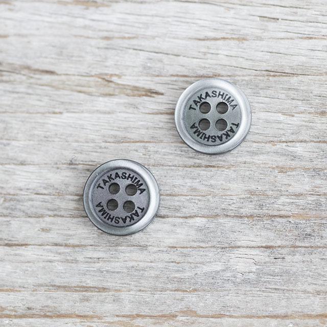 【名入れボタン(ネーム入れボタン)セット】ES200 11.5mm C/#09黒 合計100個セット