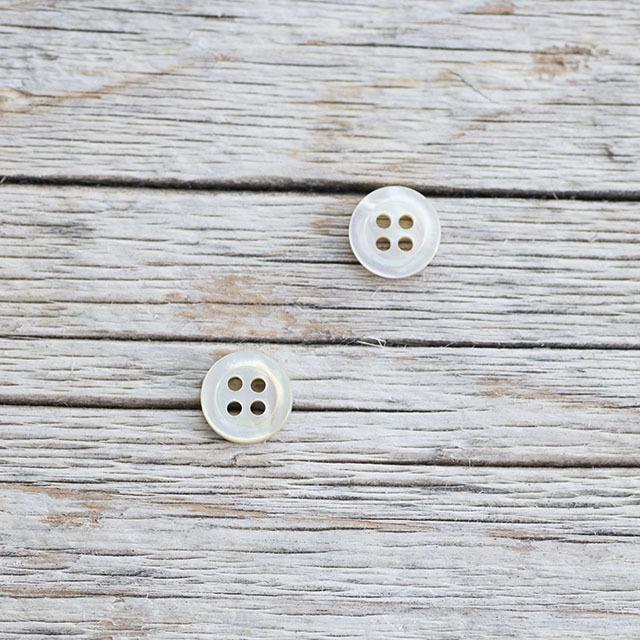 アコヤパール貝ボタン
