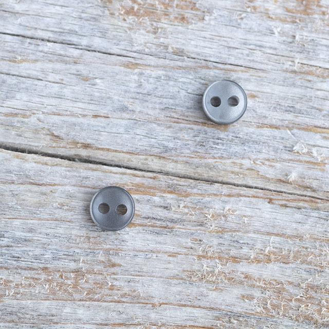 【ドール用ボタン】スモールボタン #bt265 2穴6mm C/#09 ブラック