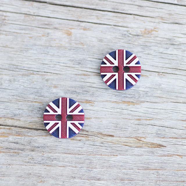 イギリス国旗ボタン