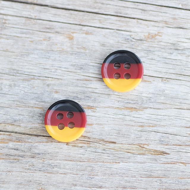 ドイツ国旗ボタン