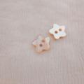 【星の形の 貝ボタン】アワビ貝 貝ボタン#bt133 2穴13mm