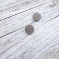 フラットメタルボタン