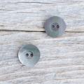 【丸型(シンプルデザイン)】黒蝶貝 貝ボタン#bt060 2穴11.5mm