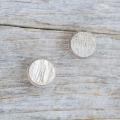 【シンプルデザイン貝ボタン SAND】カピスシェル #BT225  C/#47ゴールド 1穴11.5mm