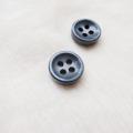 【厚みのあるボタン(4mm厚)】淡水真珠貝 貝ボタン#bt097 4穴11.5mm C/#SMK
