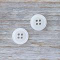 【名入れボタン(ネーム入れボタン)セット】ES200 11.5mm C/#01白 合計100個セット