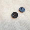 【丸型(定番)】ペン貝ボタン#00017 4穴11.5mm