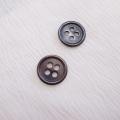 【丸型(定番)】ペン貝ボタン#00017 4穴13mm