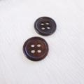 【丸型(定番)】ペン貝ボタン#00017 4穴15mm