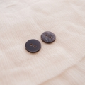 【丸型(シンプルデザイン)】ペン貝ボタン#bt040 2穴10mm